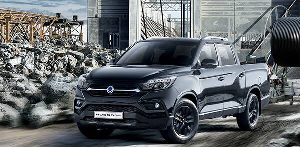 SsangYong Musso Grand XL Accessories